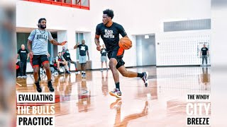 Evaluating The Chicago Bulls Practice 2020