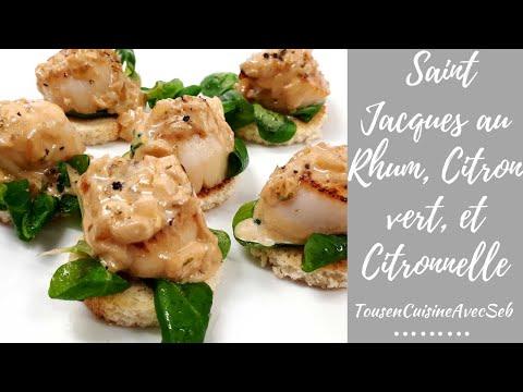 recette-noix-de-saint-jacques-au-rhum,-citron-vert,-et-citronnelle-(tousencuisineavecseb)