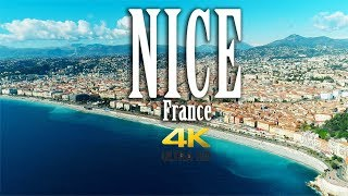 Nice France in 4K. Côte d