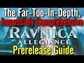 The Unabridged, Unnecessarily In Depth Ravnica Allegiance Prerelease Guide!