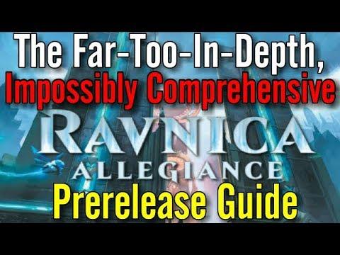 The Unabridged, Unnecessarily In Depth Ravnica Allegiance Prerelease Guide!