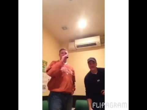 Rex karaoke in Okinawa Japan 2016