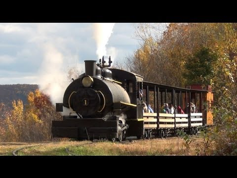 Pioneer Tunnel Coal Mine And Steam Train (in HD)