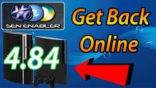 PS3 SEN Enabler v6.2.0 [CEX DEX 4.84] For Jailbroken PS3 Get Back Online