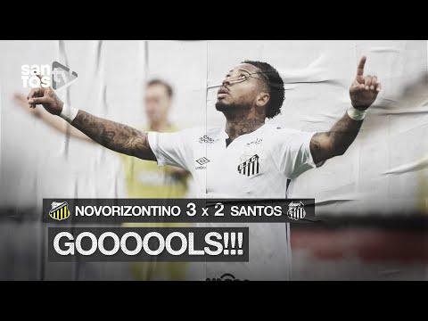 NOVORIZONTINO 3 X 2 SANTOS | GOLS | PAULISTÃO (26/07/20)