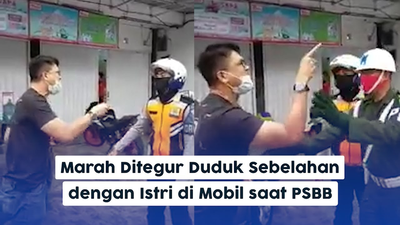 Istri Diminta Pindah Duduk ke Bangku Belakang Ikuti Aturan PSBB ...