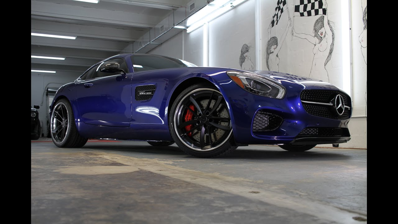 2016 mercedes benz gts on adv 1 ceramic pro by advanced for Mercedes benz of south florida