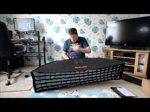 PhotoSEL 35x 140cm Strip Softbox Unboxing and Building | Simon Anderson Photography