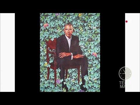 Michelle et Barack Obama ont leur portrait officiel