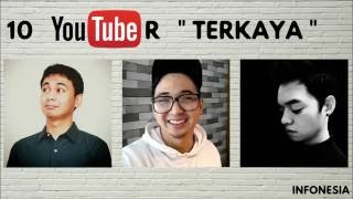 WOW ! Inilah 10 Youtuber Indonesia dengan Penghasilan ADSENSE TERBESAR (JUNI 2016) thumbnail