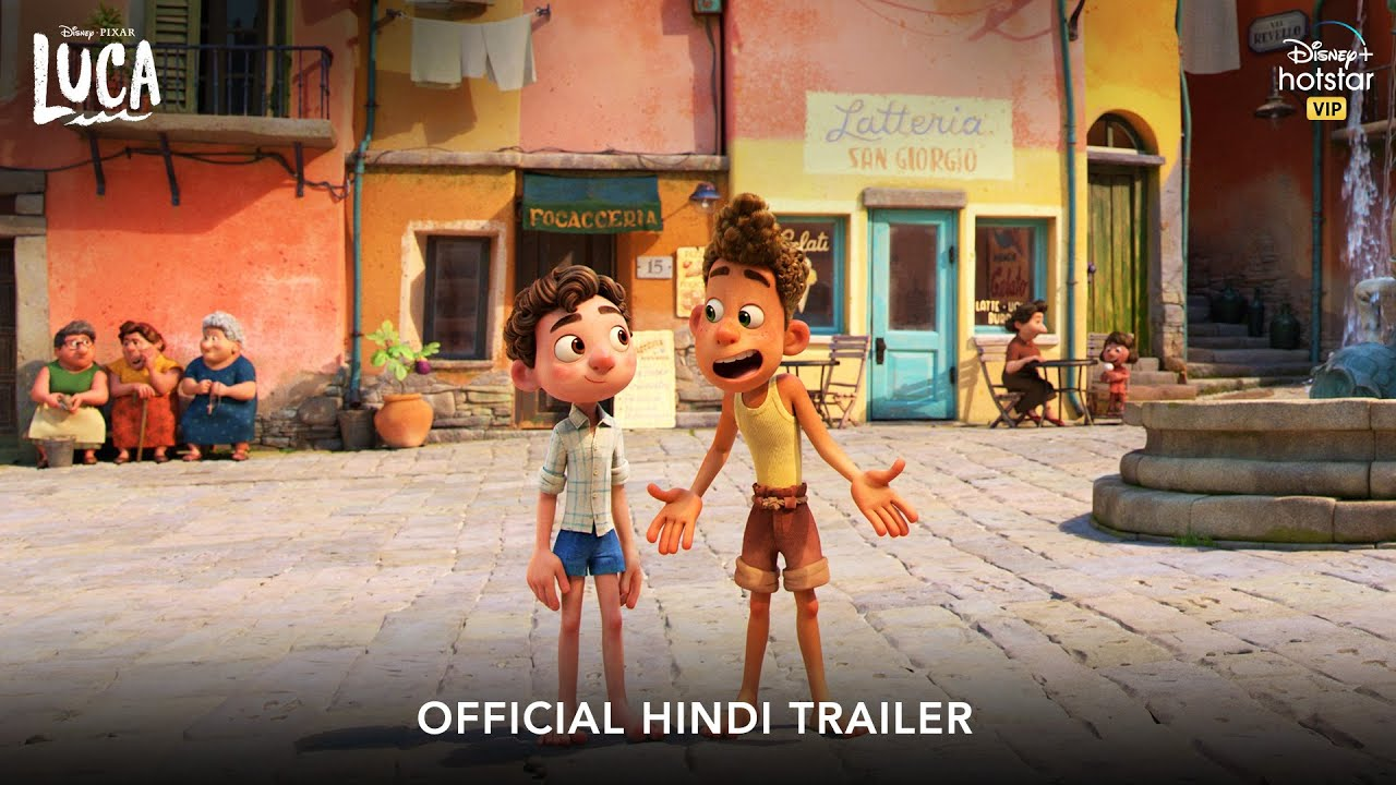 Download Disney and Pixar's Luca | Official Hindi Trailer