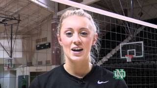 Day in the Life of volleyball player, Emily Asche: UND Sports TV Feature thumbnail