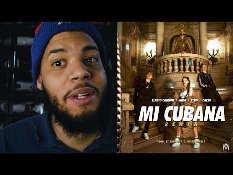 Mi Cubana Remix - Eladio Carrion X Khea X Cazzu X Ecko - Mi cubana remix video oficial reaccion!