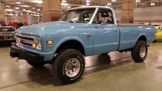 1968 Chevy K20 4x4 For Sale~396~700R4~Hydro Winch~Runs & Drives Beautifully!!