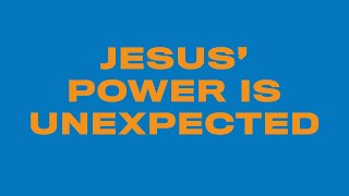 "CFC KIDS | AT-HOME LESSON - ""Jesus' Power Is Unexpected"""