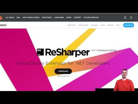 Как установить resharper