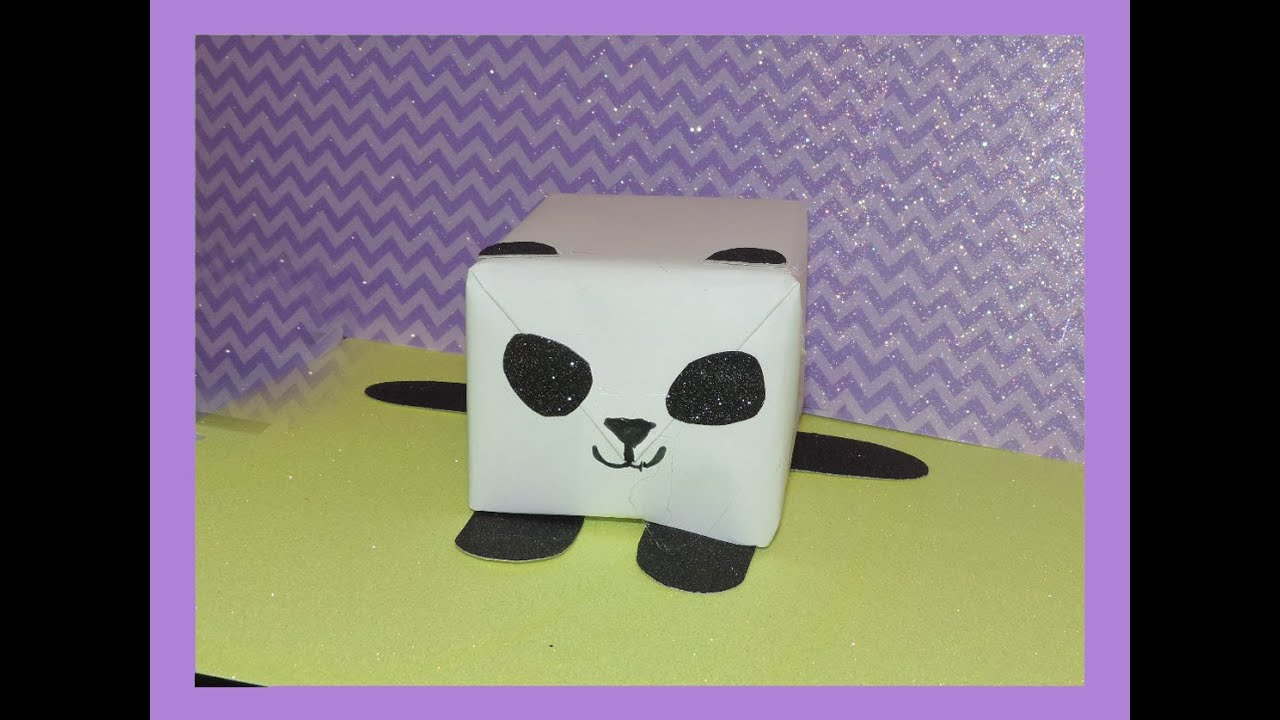 Panda Gift Box Idea   YouTube