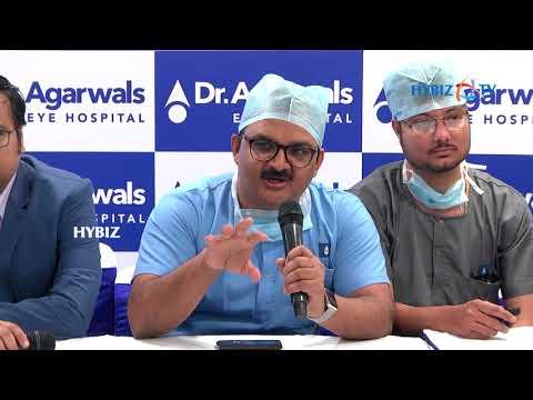Maramganty Vamshidhar Medical Director Dr Agarwal's Eye Hospital | Child's blindness