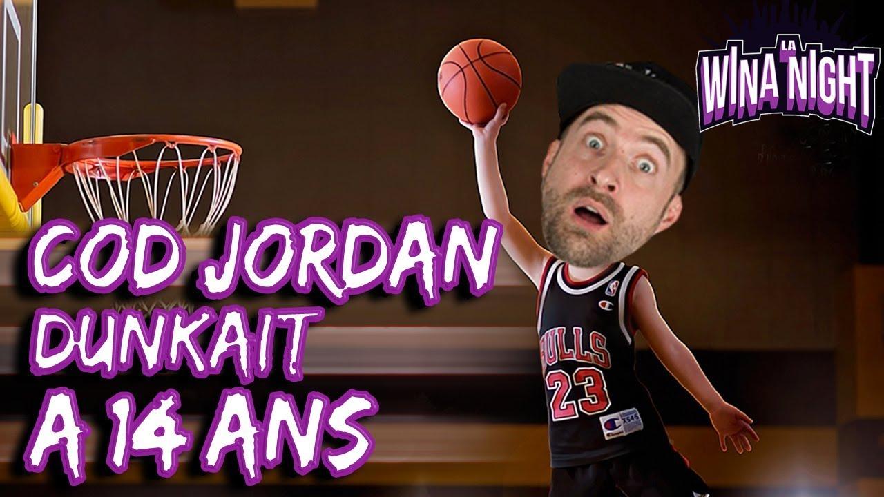 amazing price wide varieties look for 🏀 COD Jordan a claqué son 1er dunk à 14 ans !