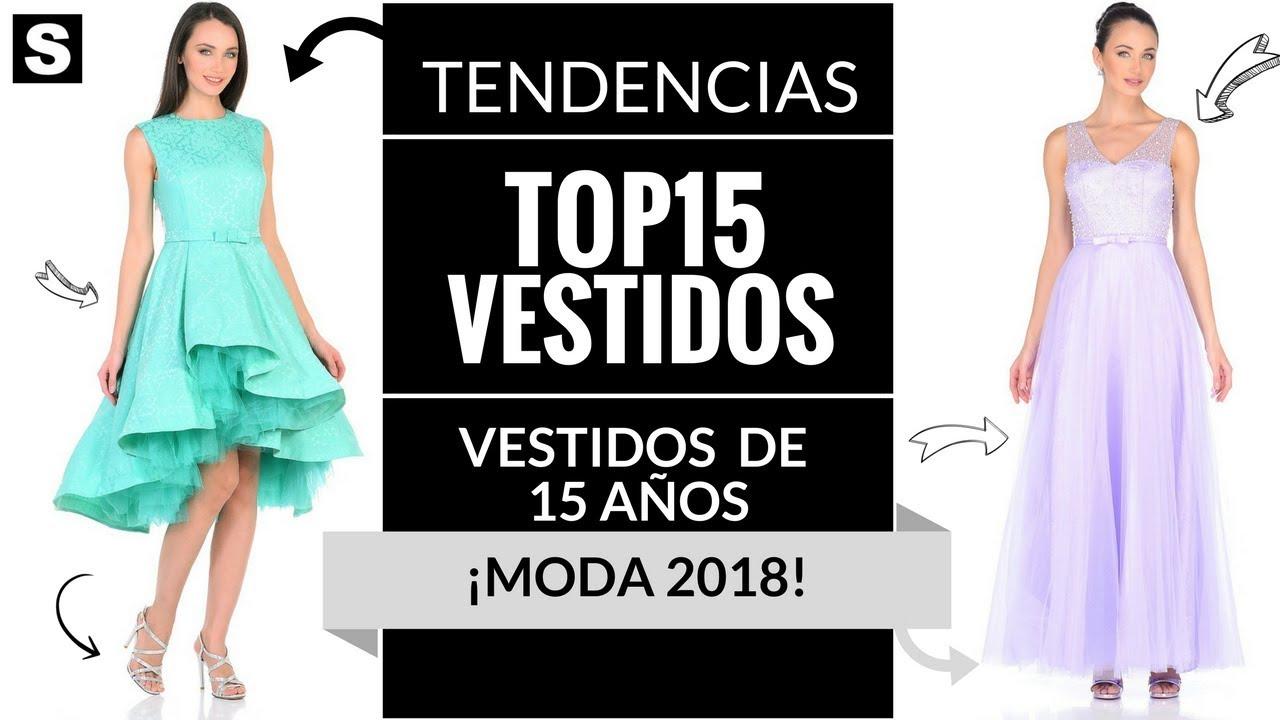 27affe119 VESTIDOS DE 15 AÑOS 👗 ¡MODA 2018!  Fiesta  Quince  Quinceañeras ...