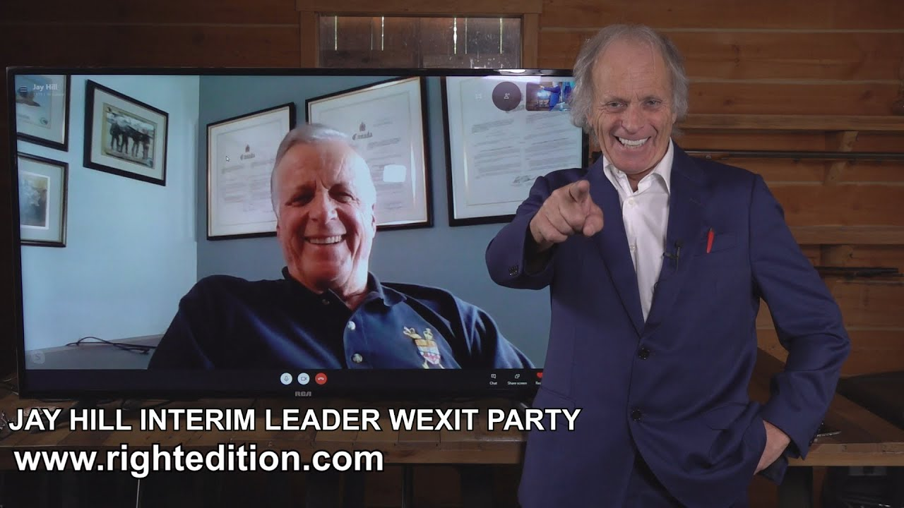Brian talks With New Wexit Leader Jay Hill