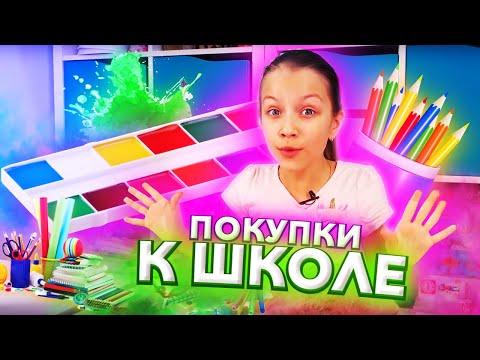 Мои ПОКУПКИ к Школе Back To School 2019 / Вики Шоу