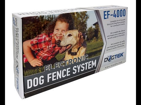 DOGTEK Electronic Dog Containment Fence Kit Review