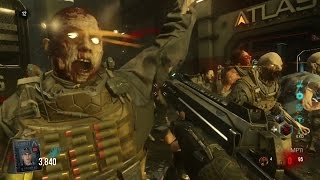 "FIRST GAME - ""Exo Zombies Outbreak Gameplay/Walkthrough"" - (Call of Duty Advanced Warfare Zombies)"