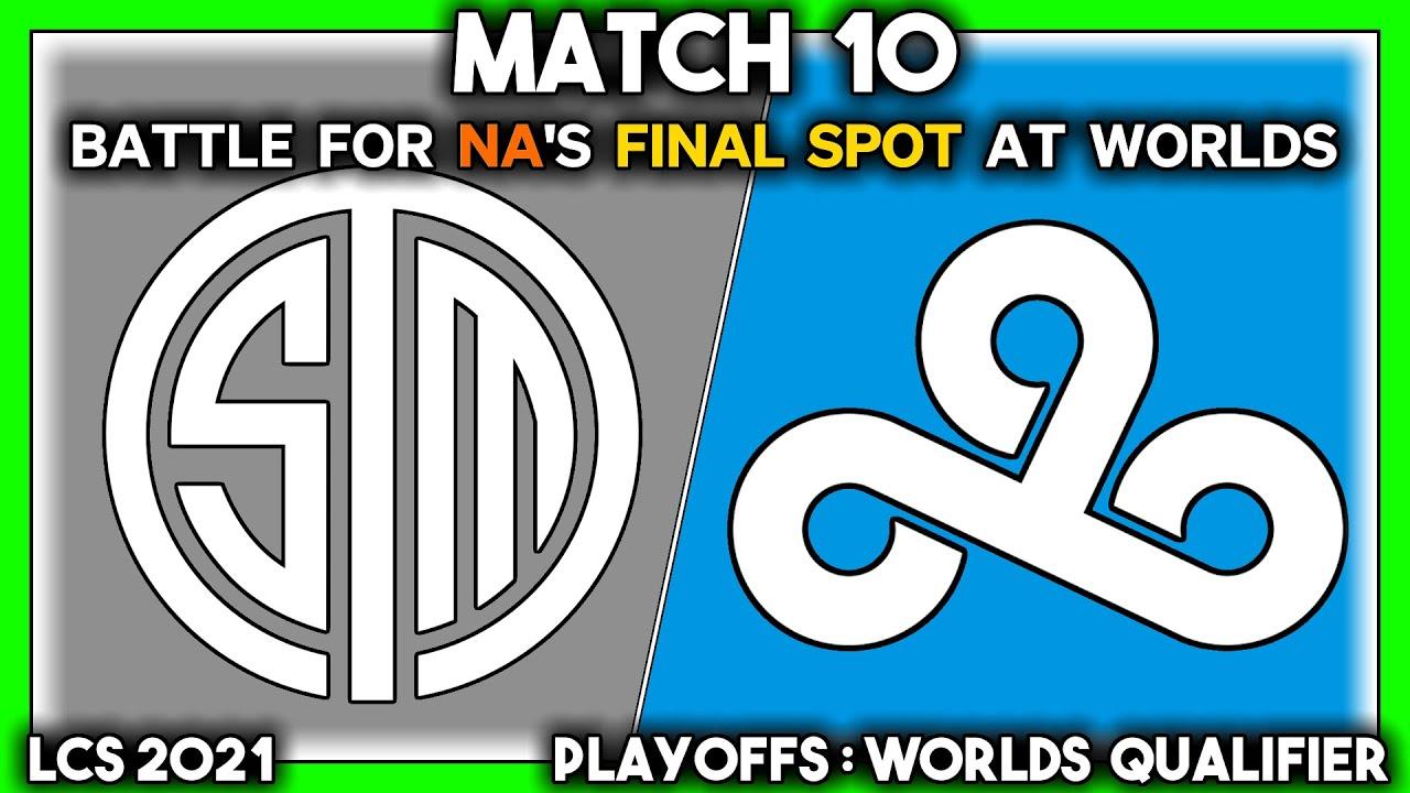 Download NA'S FINAL WORLDS SPOT (LCS 2021 CoStreams | Playoffs: Worlds Qualifier | Match 10: TSM vs C9)