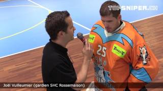 Coupe Suisse : Interview Joel Vuilleumier