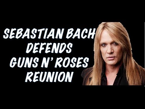 Guns N' Roses News: Sebastian Bach (Skid Row) Defends GNR Reunion & Slash Flips off A Stalker!
