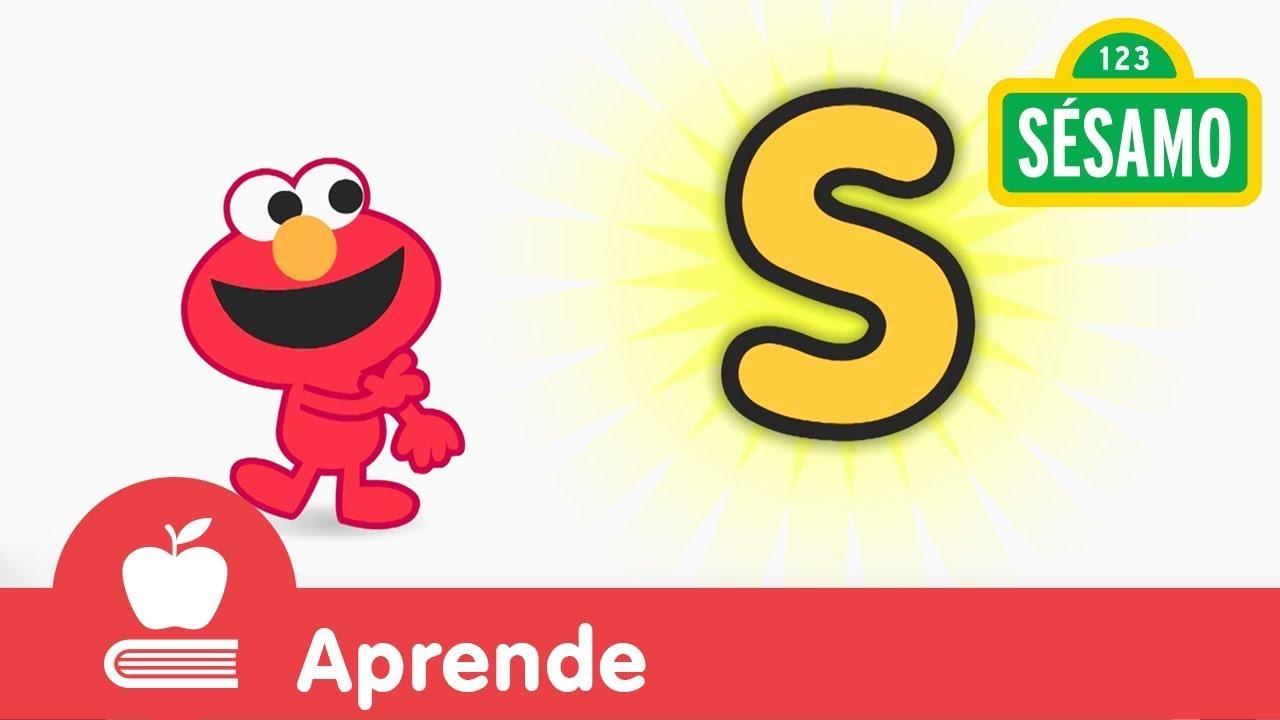 Sésamo: Elmo Y La Letra S