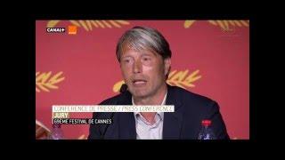 Mads Mikkelsen Conferencia de prensa Cannes
