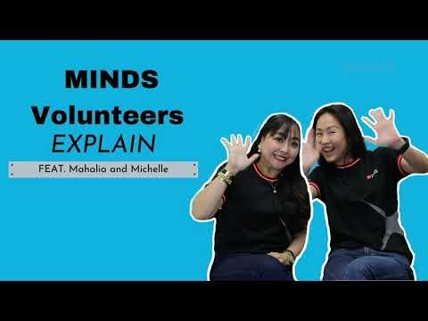 #PutOurMindsTogether - DBS Volunteers Mahalia and Michelle