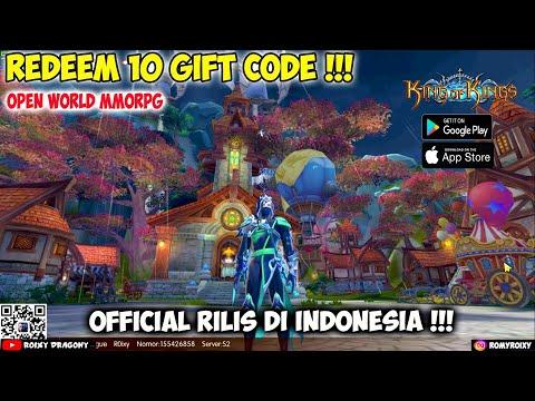 Official Rilis - Tukar 10 Gift CODE !!! King Of Kings (ENG) Android/iOS Open World MMORPG