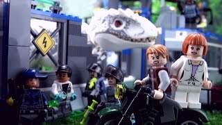 Indominus Rex Breakout Song - Jurassic World Lego - ♫ ♪ ♫ Dinosaur Songs for kids