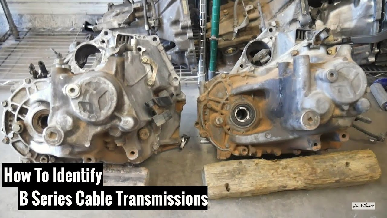 How To Identify B Series Cable Transmissions Honda & Acura - 1990 EF Civic  Si LSD Install