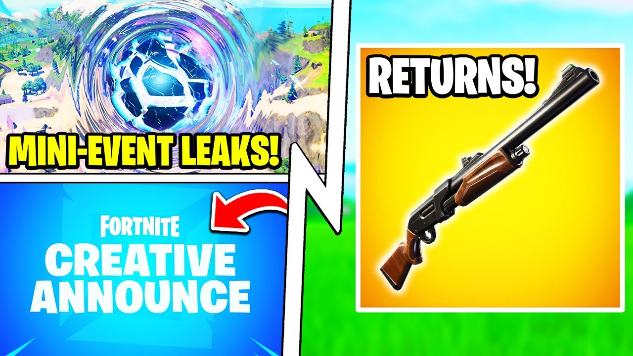 PUMP Shotgun Tomorrow, Reality Waves Mini-Event, HUGE Creative Update!