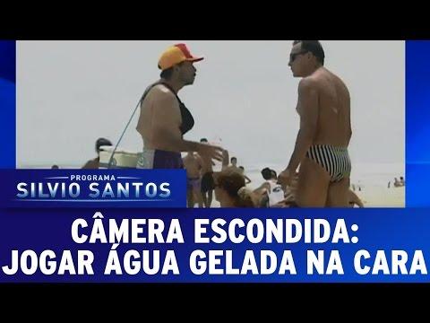 Câmeras Escondidas (21/02/16) - Jogar Água Gelada Na Cara
