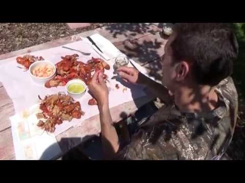 Proper Way To Shell Or Crack Crayfish And Crayfish Crepe' Recipe