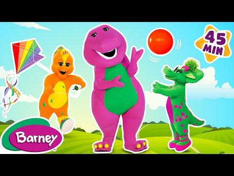 Barney Fun Outside FULL EPISODES