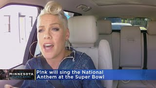P!nk To Sing National Anthem At Super Bowl LII