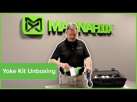 Magnetic Particle Testing Y-2 NDT Yoke Kit Unboxing