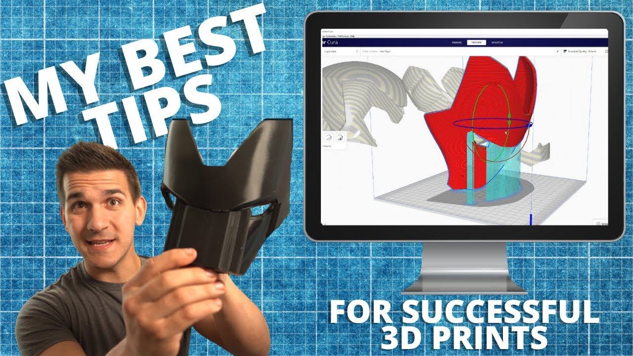 My BEST TIPS for AWESOME 3D Prints!   Arranging Various Props in Ultimaker Cura