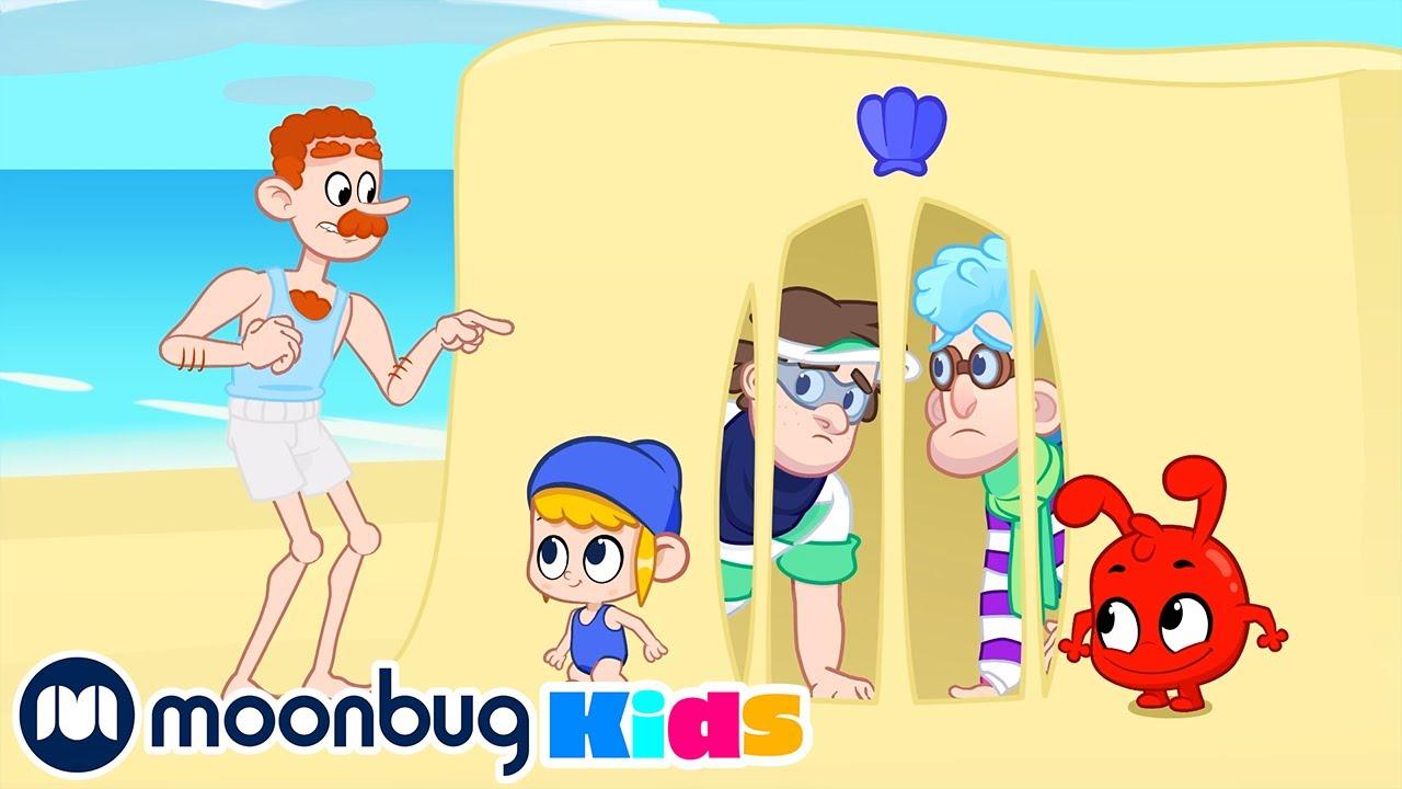 Morphle en Español - Los Bandidos Playeros | Caricaturas | Moonbug Kids en Español
