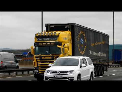 Callerton Haulage Scania Super V8 VB03CAL