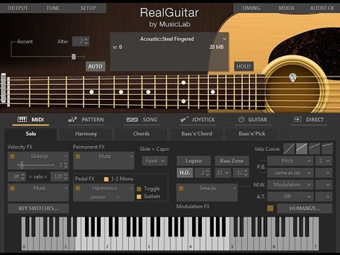 Real Guitar MusicLab, VST Free Download