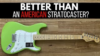 Fender Player Stratocaster Review   Better Than an American Professional Strat? Let's Find Out!