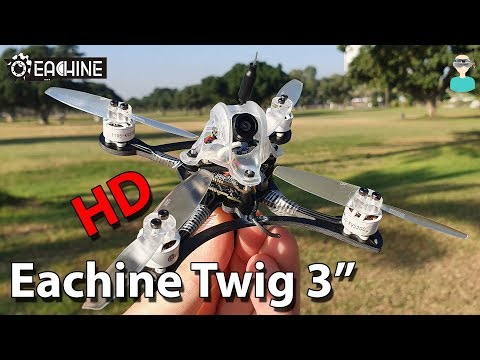 Eachine Twig HD 3 Inch Racer - Setup, Review & Flight Footage