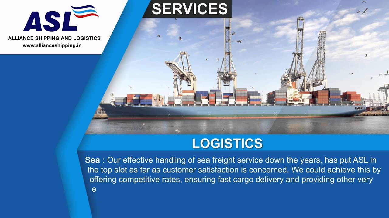 ASL - Alliance Shipping And Logistics